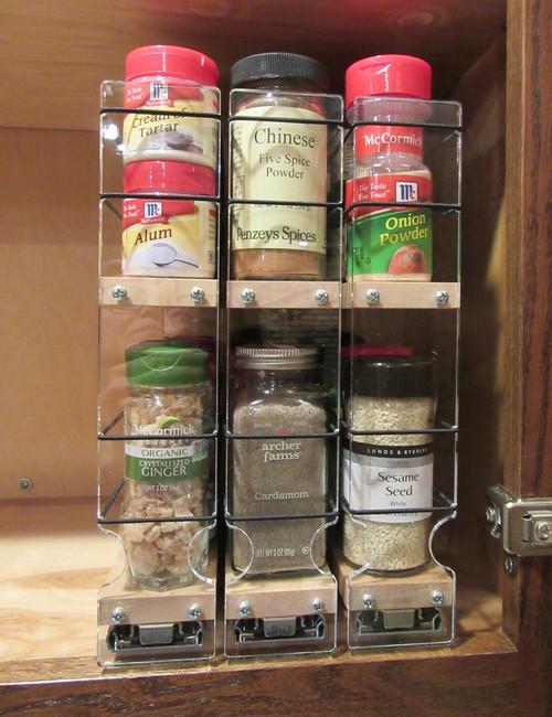 222x2x11 Maple Spice Rack Drawer Buy Spice Racks