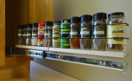 2x1x22 Maple Spice Rack Drawer