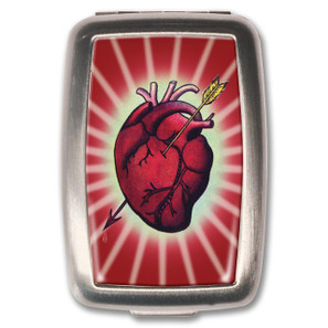 Bleeding Heart Pill Box
