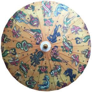 Old School Tattoo Parasol* -