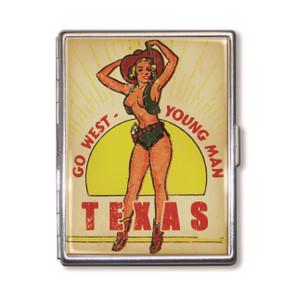 Texas Go West Cigarette Case* -