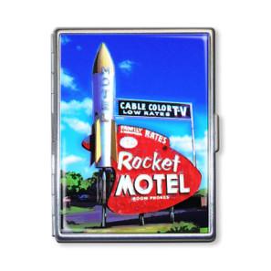 Rocket Motel Cigarette Case