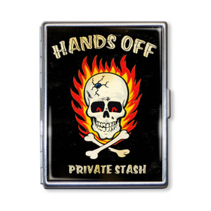 Hands Off Private Stash Cigarette Case* -