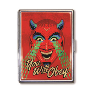 You Will Obey Cigarette Case