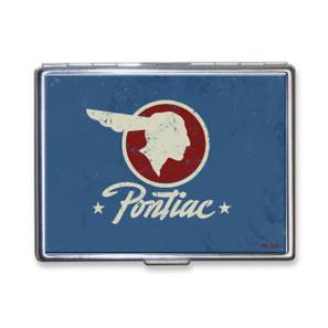 Vintage Pontiac Logo Cigarette Case