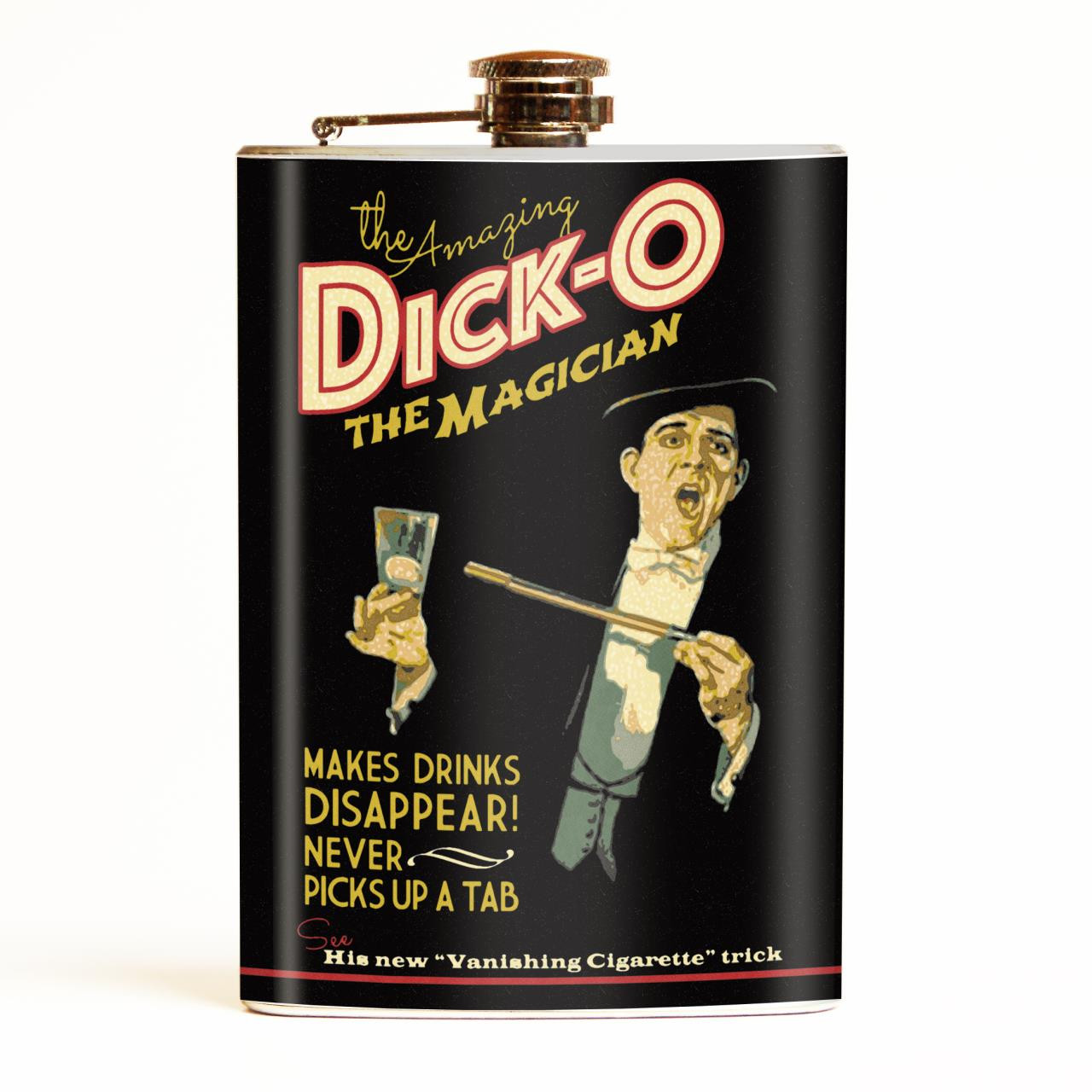 Dick-O The Magician Flask* -