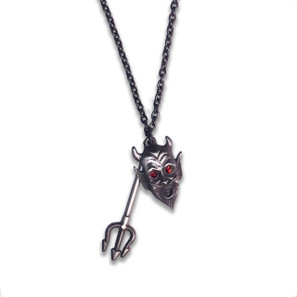 Devil Made Me Do It Charm Necklace* -