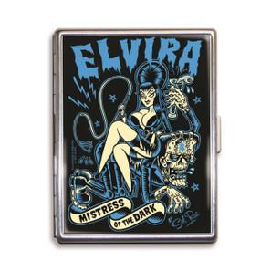 Elvira Mistress Of The Dark Cigarette Case* -