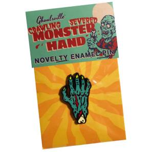 Monster Hand Enamel Pin* - 0659682806396