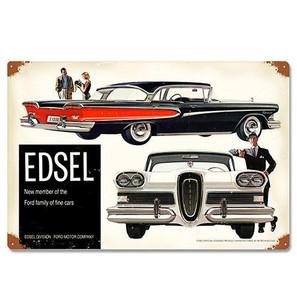 Ford 1958 Edsel Metal Sign -