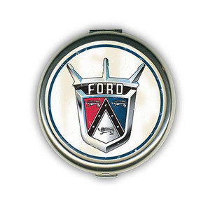 Ford Vintage Crest Compact Mirror
