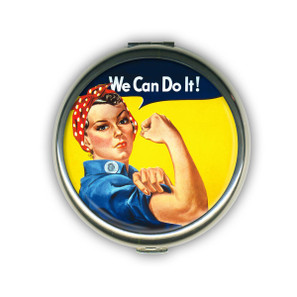 Rosie the Riveter Compact Mirror