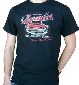 Motor City Genuine Chevrolet Men's T-Shirt