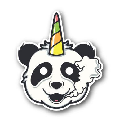 Unicorn Panda Sticker Beefys