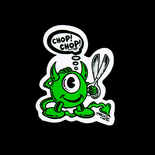 Chop Chop Sticker