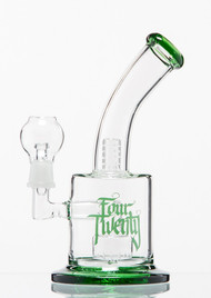 Four Twenty Saxo Bubbler - Green Ti