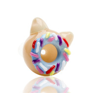 Empire Glass Cone 14.5mm Cat Donut - side view