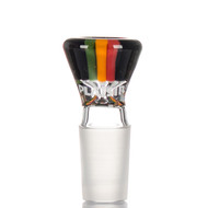 Plaisir Deluxe Glass Cone 18.8mm Rasta