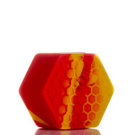 Beehive Silicone Container - Red and Yellow