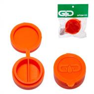 Grace Glass Silicone Container 40mm - Orange