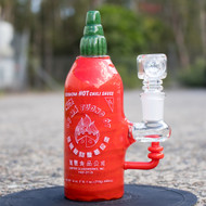Empire Glass Mini Rig - Sriracha Bottle