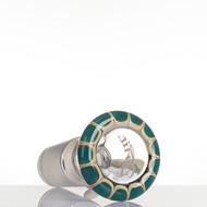 Zenit Glass Cone 18.8mm Rasta Aqua - detail