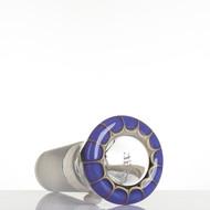 Zenit Glass Cone 18.8mm Rasta Purple - detail