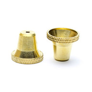 Large Bonza Brass Cone
