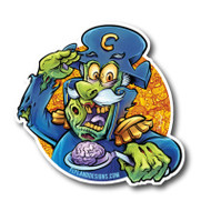 CAP'N Dead Brain Sticker