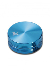 Black Leaf 'Aluminium Grinder 50mm - 2 part Blue