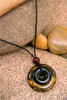 Destiny Duo Stone Pendant Stone Jewelry - Tiger's Eye & Black Jasper