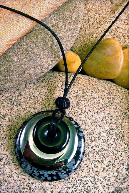 Circles of Power Pendant Stone Jewelry - Coat of Armor