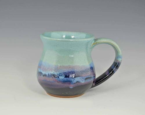 Handmade Pottery Desert Sky Mug 10 oz