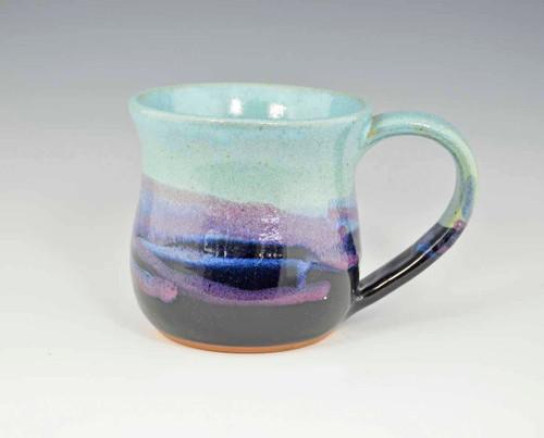 Handmade Pottery Large Desert Sky Mug 12-14 oz
