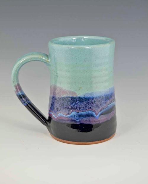 Handmade Pottery Desert Sky Tankard 16 oz