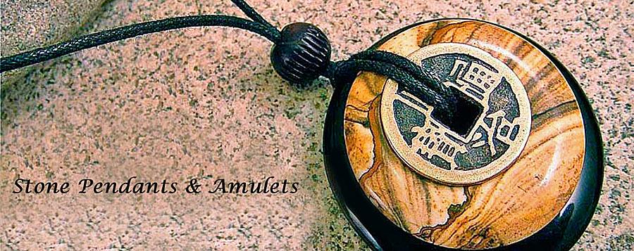 stone pendants & amulets