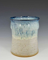 Utensil Holder in Carolina Sky Glaze