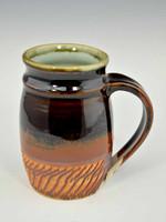 Handmade Tenmoku Chatter Mug 14 oz