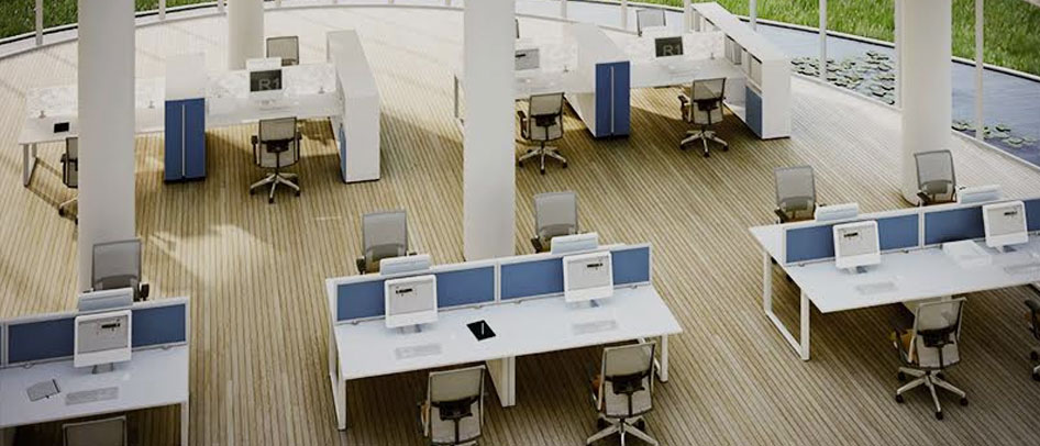 office furniture warehouse: used office furniture, desk, cubicle