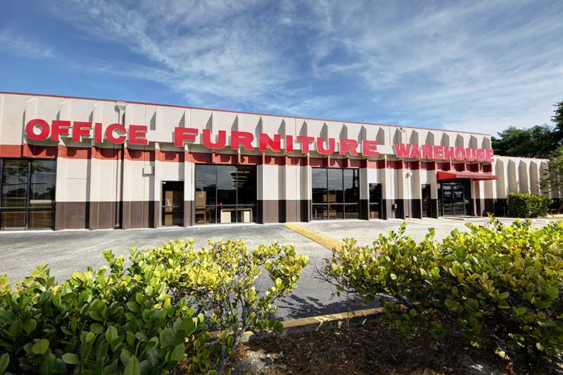 Office Furniture Warehouse - Pompano Beach Storefront