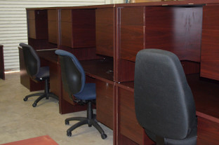 Used Inventory 20080124 Ruby Series U Shape Office Furniture Warehouse