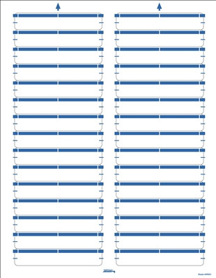 Color Coded Laser/Inkjet File Folder Labels - Light Blue | Color ...