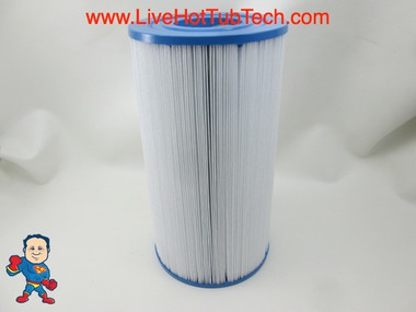 """Filter Cartridge 35sqft 9 1/4"""" Tall x 4-15/16"""" with 2 1/8"""" Hole on Top and Bottom"""