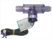 "Flow Switch, Sundance Replacement, 3/4"" barb,  Tee, Box Plug, No Bleeder Barb"