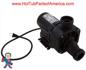 "Garden Tub Pump, Bath, Gemini Plus II, .75hp,115v,1-1/2"",w/Air Switch"