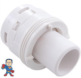 """Jet Internal, Waterway, Poly Jet, Cage Style, White, 2"""" face diameter"""