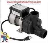 Garden Tub Pump, Bath, Vico WOW, 5.5A, 115V, w/Air Switch & Cord