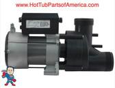 Garden Tub Pump, Bath, Vico Power WOW, 1.0hp, 115v, w/Air Sw. & Cord