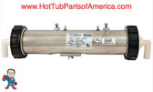 "Heater , Low Flow,Saratoga Replacement,13-1/2""x3"", 230v, 4.0kW, 90"