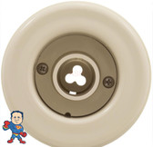 """Jacuzzi Whirlpool BMH, 2"""" hole size, Directional, Smooth, Almond, Retrofit Kit"""